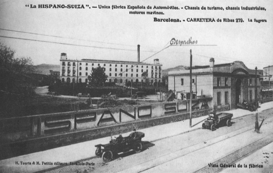 L'antiga factoria de la Hispano-Suiza.